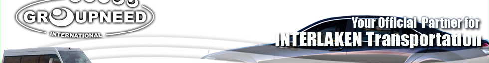 Airport transfer to Interlaken with Limousine / Minibus / Helicopter / Limousine
